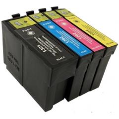 Komplet kartuš za Epson T1301/2/3/4 (BK/C/M/Y), kompatibilen