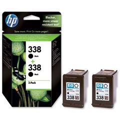 Kartuša HP CB331EE nr.338 (črna), dvojno pakiranje, original