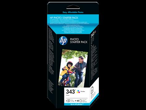 Kartuša HP Q7948EE nr.343 (barvna) + foto papir, original