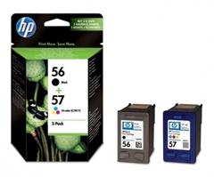 Kartuša HP SA342AE (nr.56 BK + nr.57 CMY), dvojno pakiranje, original