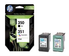 Komplet kartuš HP SD412EE (nr.350 BK + nr.351 CMY), original