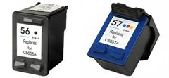 Komplet kartuš za HP SA342AE (nr.56 BK + nr.57 CMY), dvojno pakiranje, kompatibilen