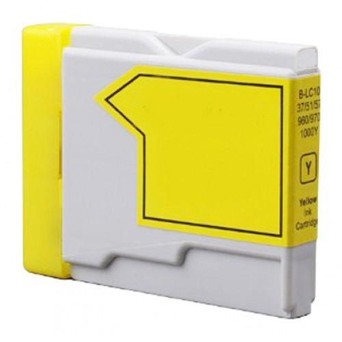 Kartuša za Brother LC1000Y (rumena), kompatibilna