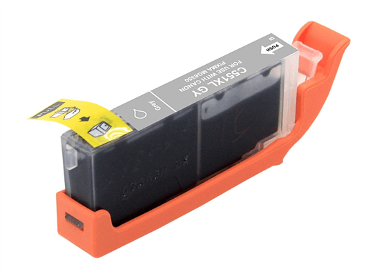 Kartuša za Canon CLI-551GY XL (siva), kompatibilna