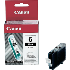 Kartuša Canon BCI-6BK (črna), original