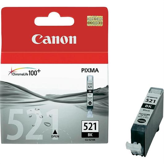 Kartuša Canon CLI-521BK (črna), original