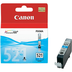 Kartuša Canon CLI-521C (modra), original