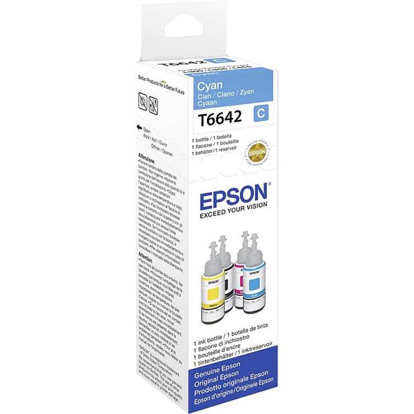Črnilo za Epson C13T66424A (modra), original