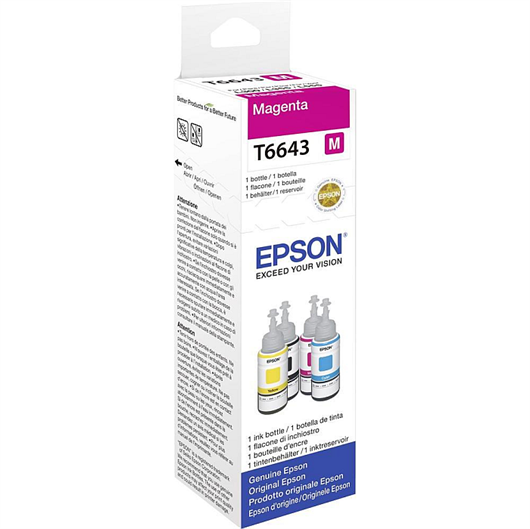 Črnilo za Epson C13T66434A (škrlatna), original