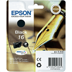 Kartuša Epson 16 (C13T16214010) (črna), original