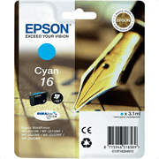 Kartuša Epson 16 (C13T16224010) (modra), original