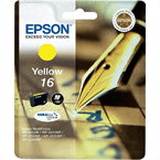 Kartuša Epson 16 (C13T16244010) (rumena), original