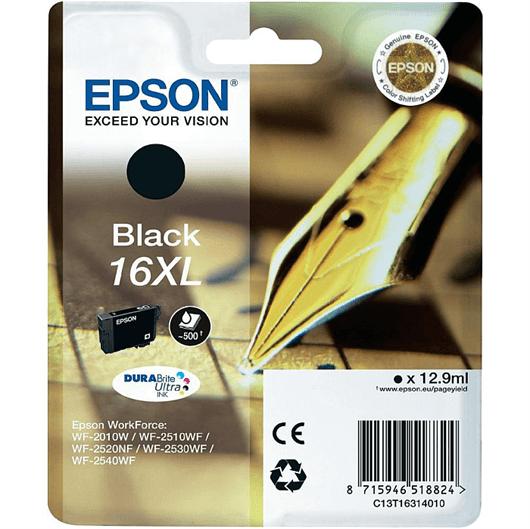 Kartuša Epson 16 XL (C13T16314010) (črna), original