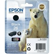Kartuša Epson 26 (C13T26014010) (črna), original