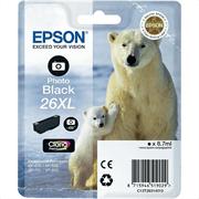 Kartuša Epson 26 XL (C13T26314010) (foto črna), original