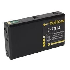 Kartuša za Epson T7014 XXL (rumena), kompatibilna