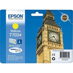 Kartuša Epson T7034 (rumena), original