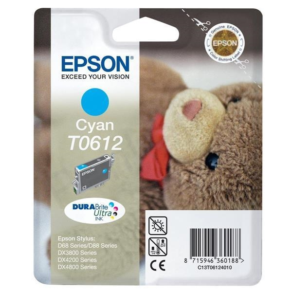 Kartuša Epson T0612 (modra), original