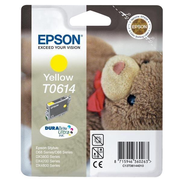 Kartuša Epson T0614 (rumena), original