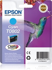 Kartuša Epson T0802 (modra), original