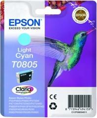 Kartuša Epson T0805 (svetlo modra), original