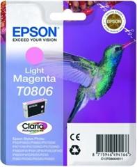 Kartuša Epson T0806 (svetlo škrlatna), original