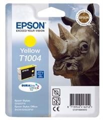 Kartuša Epson T1004 (rumena), original