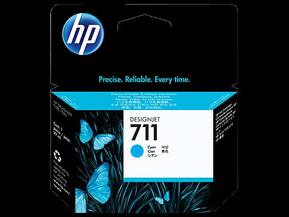 Kartuša HP CZ130A nr.711 (modra), original