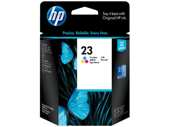 Kartuša HP C1823D nr.23 (barvna), original
