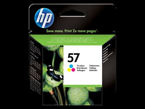 Kartuša HP C6657AE nr.57 (barvna), original