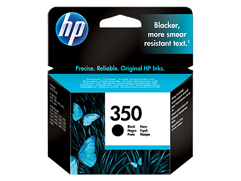 Kartuša HP CB335EE nr.350 (črna),  original