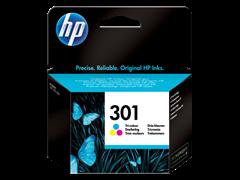Kartuša HP CH562EE nr.301 (barvna), original