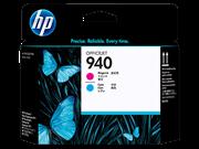 Tiskalna glava HP C4901A nr.940 (modra, škrlatna), original