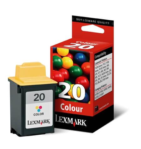 Kartuša Lexmark 15M0120 nr.20 (barvna), original