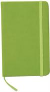 Blok A6 Notebook Lux, zelena, brez črt