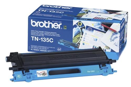 Toner Brother  TN-135 C (modra), original