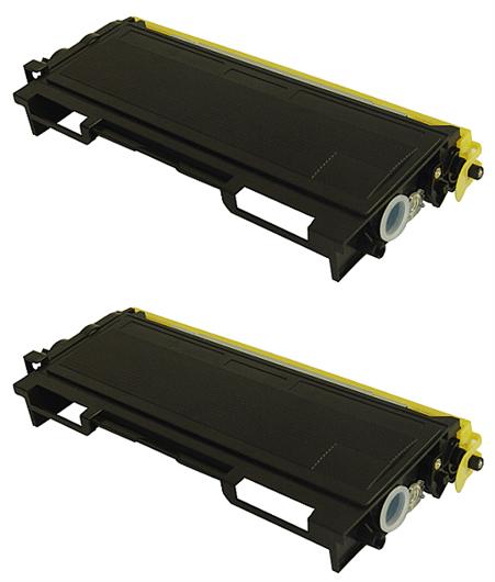 Toner za Brother TN-6600 (črna), dvojno pakiranje, kompatibilen