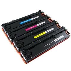Komplet tonerjev za HP CB540/1/2/3 125A (BK/C/M/Y), kompatibilen