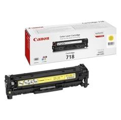 Toner Canon CRG-718Y (2659B002AA) (rumena), original
