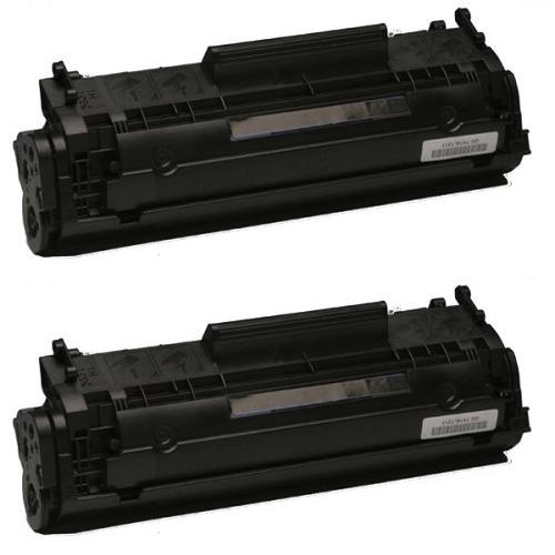 Komplet tonerjev za HP Q2612A (črna), dvojno pakiranje, kompatibilen
