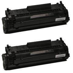 Komplet tonerjev za HP Q2612X (črna), dvojno pakiranje, kompatibilen