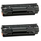 Komplet tonerjev za HP CB435A (črna), dvojno pakiranje, kompatibilen