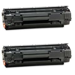 Komplet tonerjev za HP CB436A (črna), dvojno pakiranje, kompatibilen