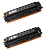 Komplet tonerjev za HP CB540A 125A (črna), dvojno pakiranje, kompatibilen