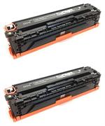 Komplet tonerjev za HP CE320A / 128A (črna), dvojno pakiranje, kompatibilen