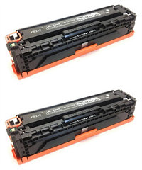 Komplet tonerjev za HP CE410X 305X (črna), dvojno pakiranje, kompatibilen