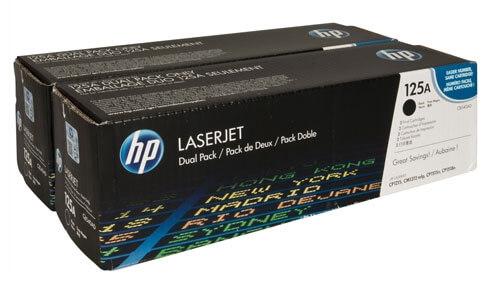 Toner HP CB540AD / 125A (črna), dvojno pakiranje, original