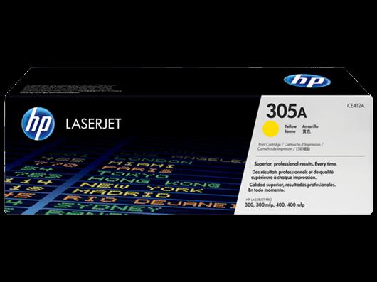 Toner HP CE412A 305A (rumena), original