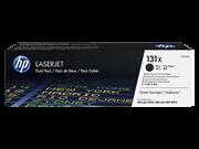 Toner HP CF210XD 131X (črna), dvojno pakiranje, original