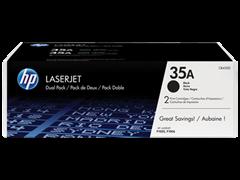 Toner HP CB435AD (črna), dvojno pakiranje, original